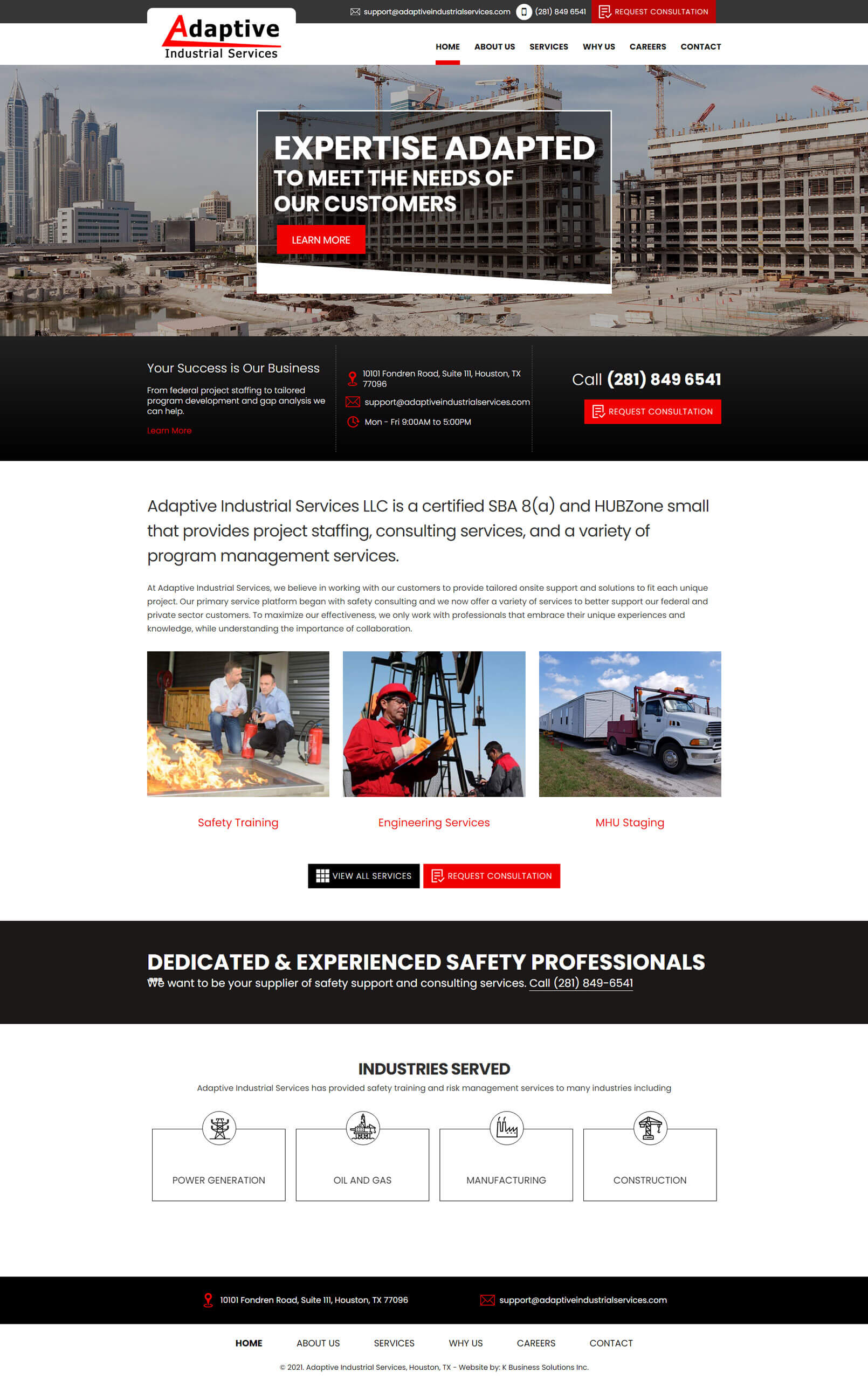 Adaptive Industrial Services