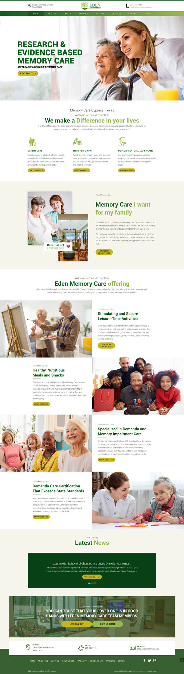 Eden Memory Care