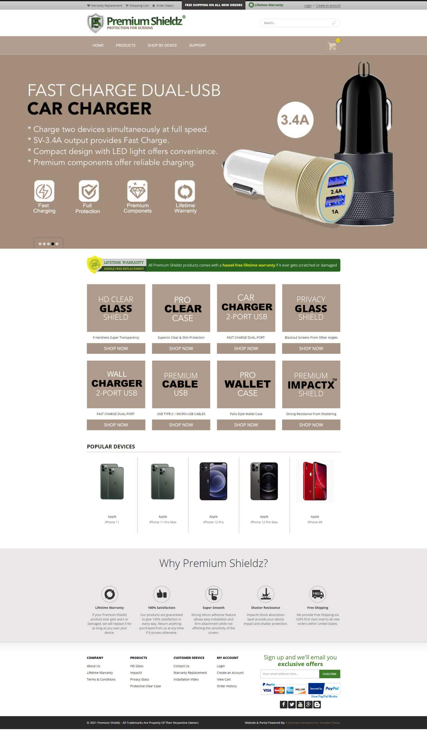 Premium Shieldz