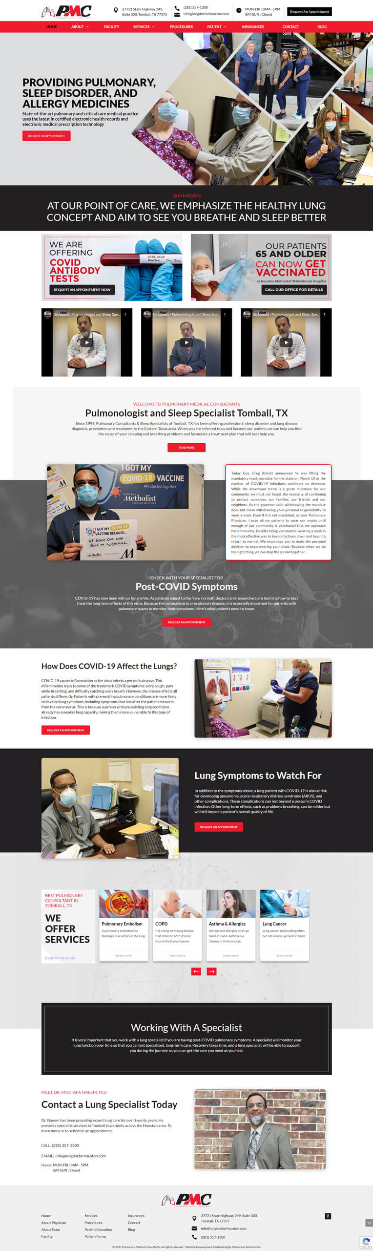 Pulmonary Medical Consultant