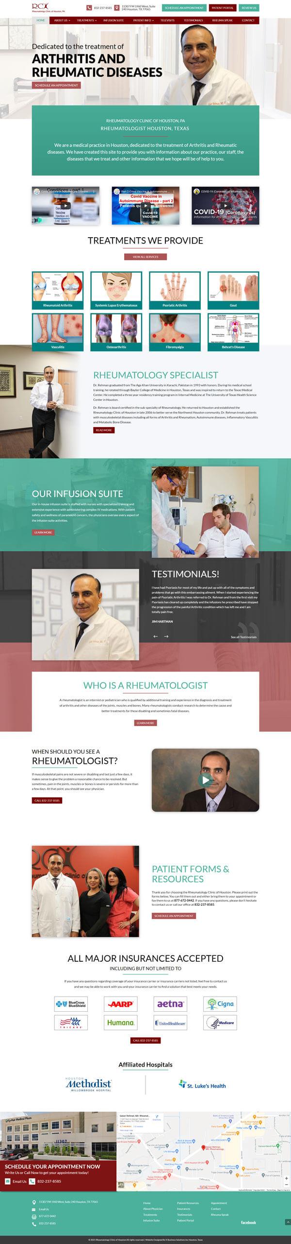 Rheumatology Clinic Dr Rehman